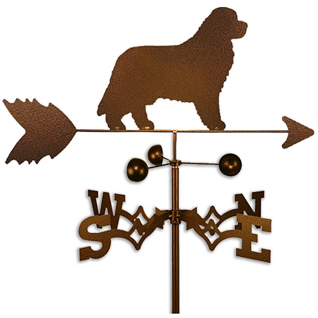 Handmade Newfoundland Dog Copper Weathervane