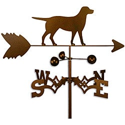 Handmade Labrador Lab Dog Copper Weathervane