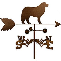 Handmade Great Pyrenees Dog Copper Weathervane