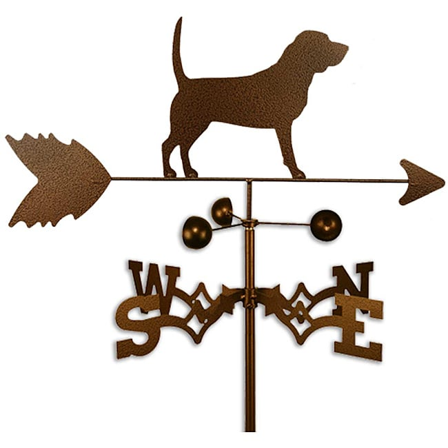 Handmade Beagle Dog Copper Weathervane