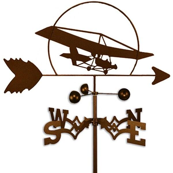 Handmade Ultralight Trike Aircraft Airplane Weathervane