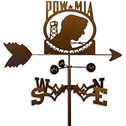 Handmade Armed Services POW MIA Weathervane