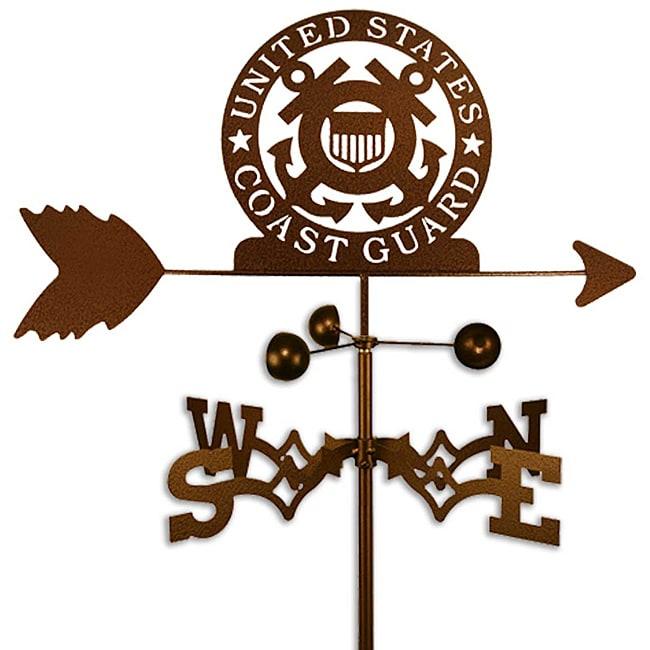 Handmade Armed Services US Coast Guard USCG Weathervane