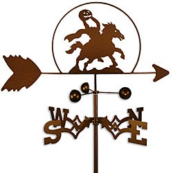 Handmade Headless Hunter Halloween Weathervane