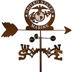 Handmade Armed Services US Marine Corps Weathervane
