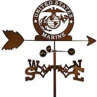 Handmade Armed Services US Marine Corps Weathervane