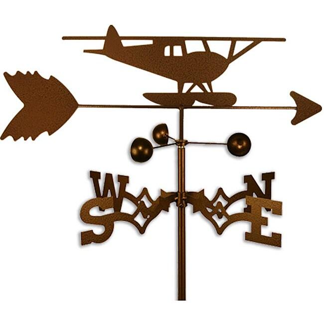 Float Plane Airplane Handmade Steel Weathervane