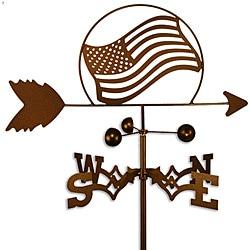 American Flag Steel Weathervane
