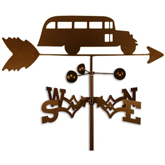 Handmade School bus Weathervane
