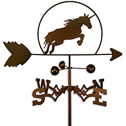 Handmade Unicorn Horse Weathervane