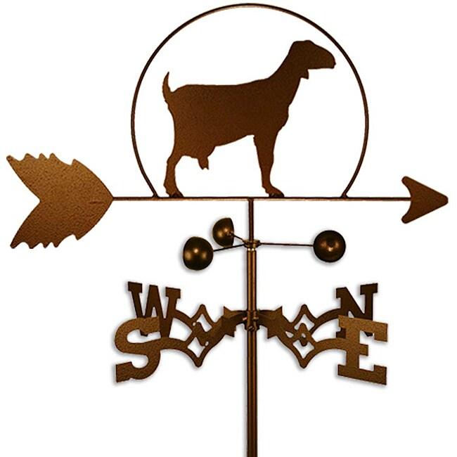 Handmade Milk Goat Weathervane