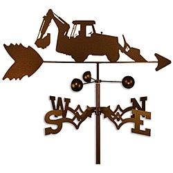 Handmade Backhoe Tractor Weathervane