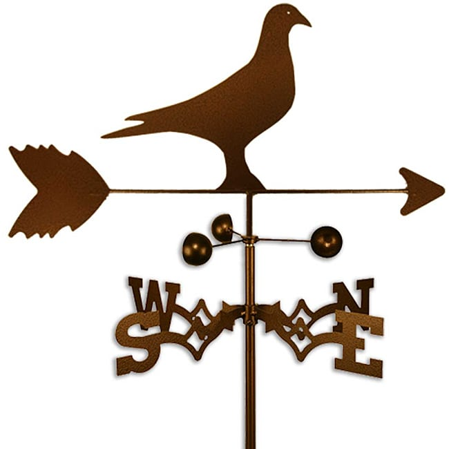 Handmade Homing Pigeon Bird Weathervane