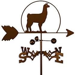 Handmade Llama Alpaca Weathervane