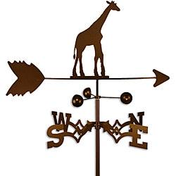 Handmade Giraffe Weathervane