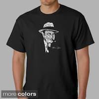 Los Angeles Pop Art Men's 'Origninal Gangster' Capone Cotton T-Shirt