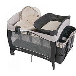 Graco Pack 'n Play Playard with Newborn Napper Elite in Vance - Thumbnail 0