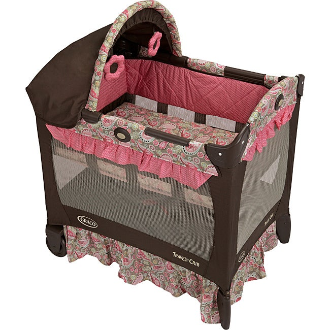 Graco Travel Lite Crib In Jacqueline Free Shipping Today