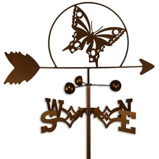 Handmade Butterfly Weathervane (Side Mount)