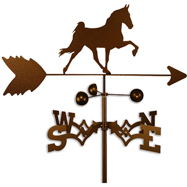 Handmade Tennessee Walker Horse Weathervane