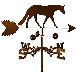 Handmade Western Pleasure Horse Weathervane