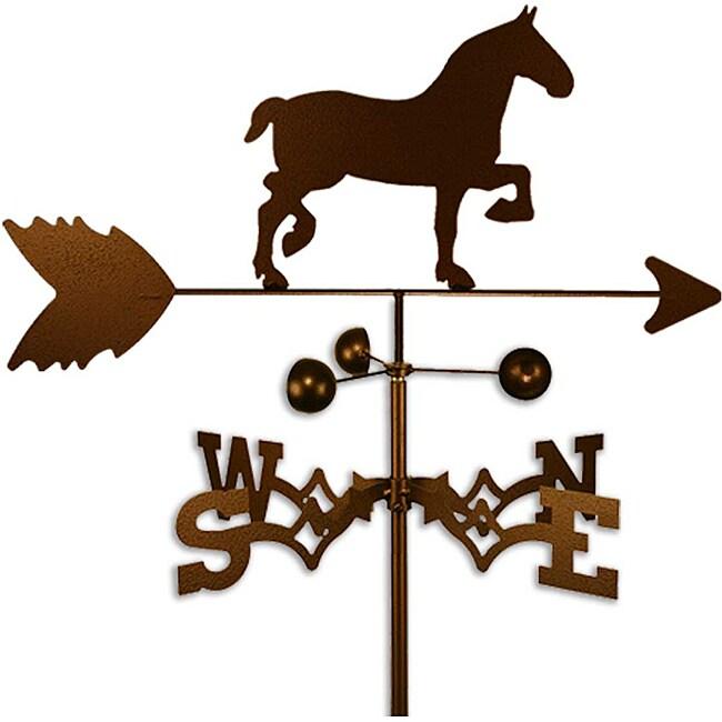 Handmade Draft Horse Weathervane