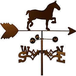 Handmade Draft Horse Weathervane