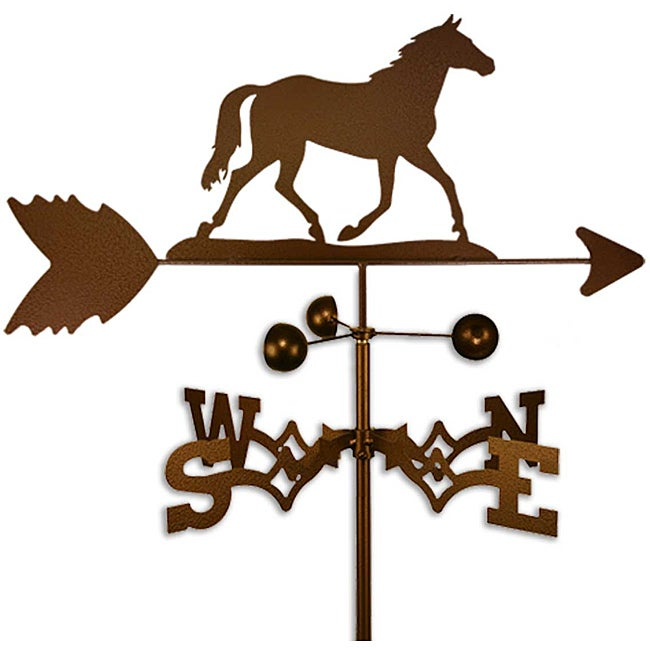 Handmade Quarter Horse Weathervane