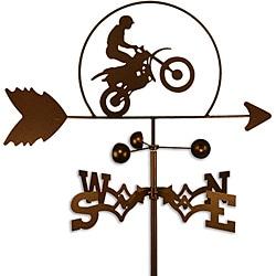 Handmade Dirt Bike Motorcycle Weathervane