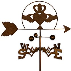 Handmade Irish Celtic Claddagh Weathervane