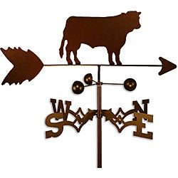 Handmade Steer Cow Weathervane