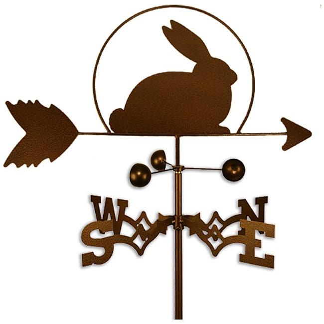 Handmade Easter Bunny Rabbit Weathervane