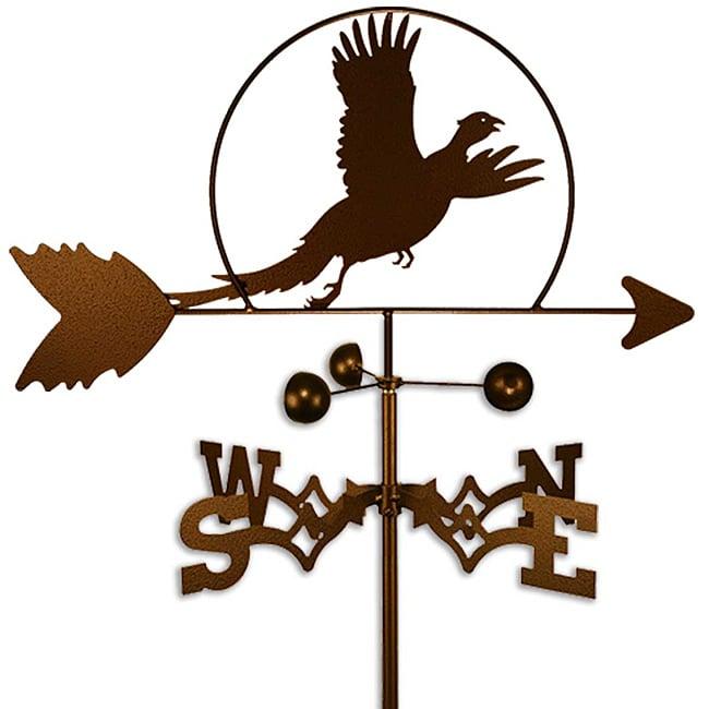Handmade Pheasant Bird Weathervane