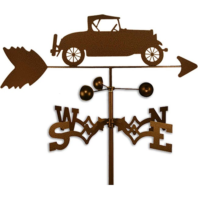 Handmade Ford Model A Car Weathervane Overstock 6575873