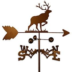 Handmade Elk Caribou Weathervane