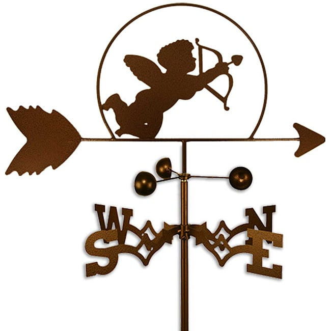 Handmade Cupid Weathervane (Roof Mount)
