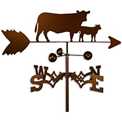 Handmade Cow and Calf Weathervane