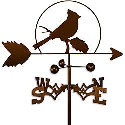 Handmade Cardinal Bird Weathervane
