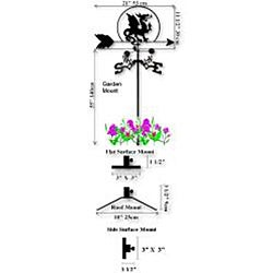 Handmade Buzzard Vulture Weathervane - Thumbnail 1