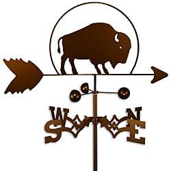 Handmade Buffalo Bison Weathervane
