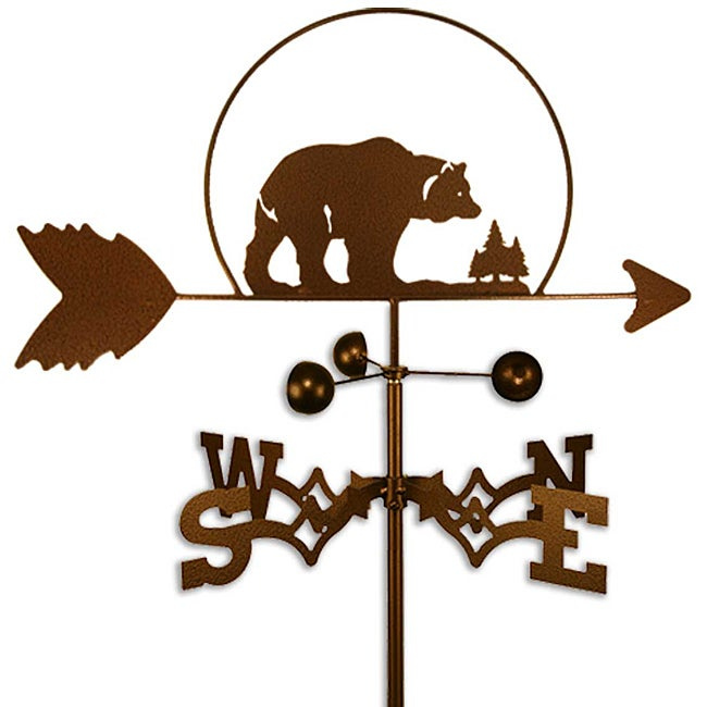 Handmade Bear Weathervane
