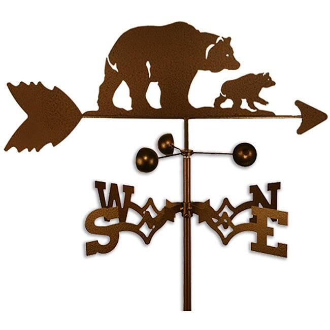 Handmade Bear and Cub Weathervane