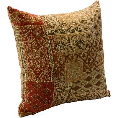 Siscovers Empress Transitional Designer Throw Pillow with Removable Cover