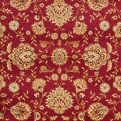 Woven Red Helminth Olefin Rug (7'10 x 10'3)