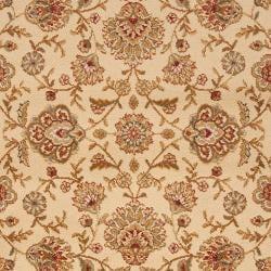 Woven White Helleno Olefin Rug (7'10 x 10'3)