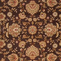 Woven Brown HarpaxOlefin Rug (7'10 x 10'3) - Thumbnail 2