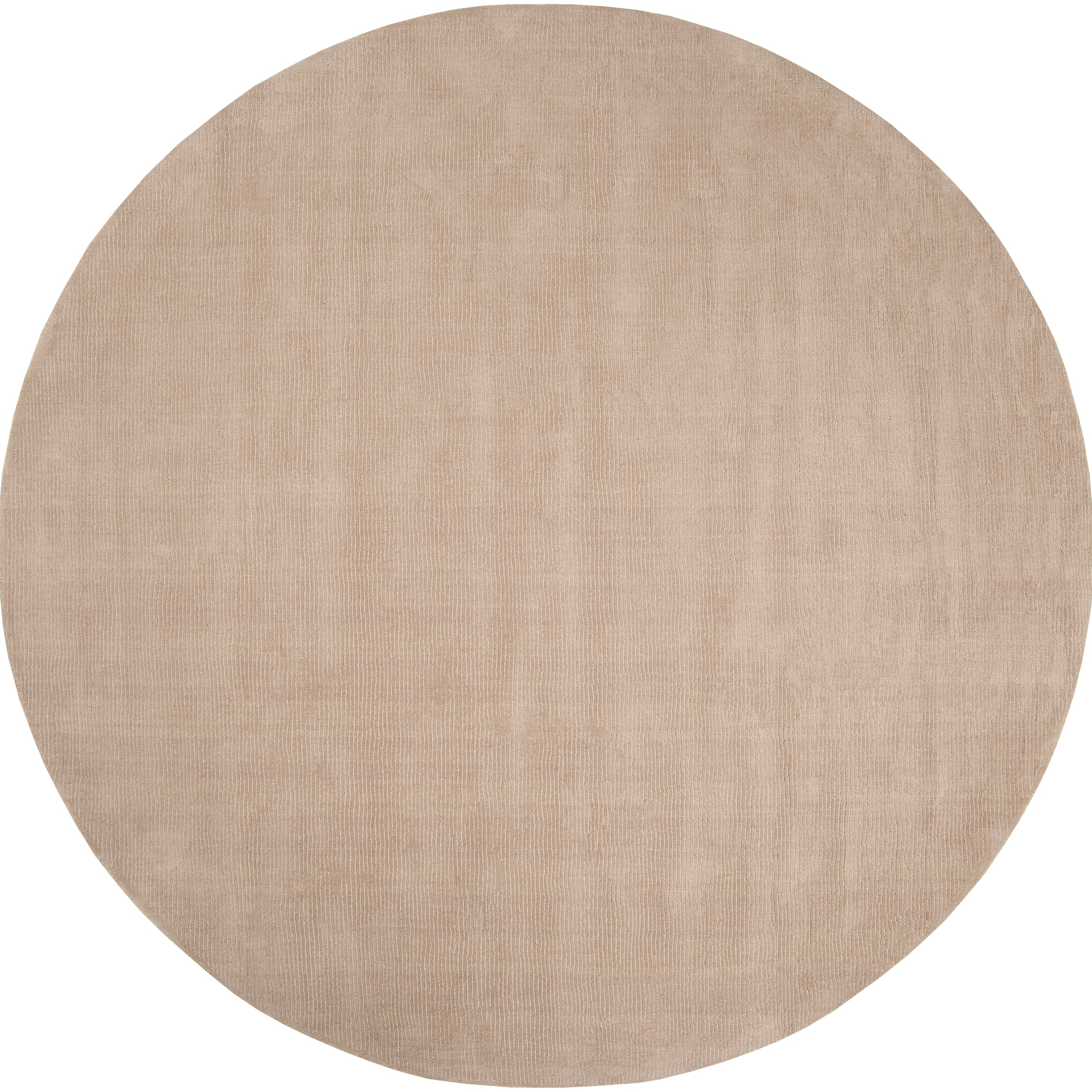 Hand Crafted Beige Solid Casual Dipson Wool Area Rug 6