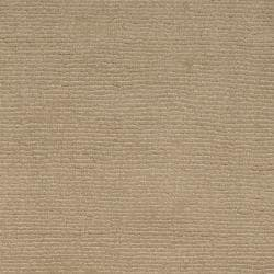Hand-crafted Beige Solid Casual Dipson Wool Rug (6' x 9') - Thumbnail 2