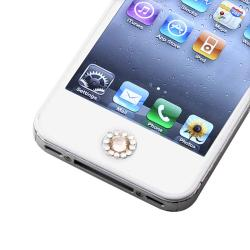 Orange Diamond Home Button Sticker for Apple iPhone/ iPad/ iPod Touch - Thumbnail 2