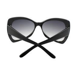 Women's Black Butterfly Sunglasses - Thumbnail 1